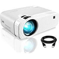 """ELEPHAS Projector, GC333 Portable Projector with 4500 Lumens and Full HD 1080p, 180"""" Display…"""