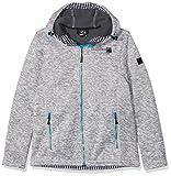 Deproc Active Damen Sweater/Strickfleece Whiteford Jacke, Grau (grey-white mottled), 54