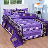 Soni Traders Cotton Double Bedsheet with...
