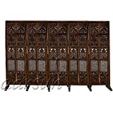 Aarsun Woods Handcrafted Wooden Partition / Room Divider