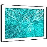 BFAB1200d - Framed Kunstdruck Wand - türkis 3D Fliese Mosaik moderne abstrakte Landschaft Wohnzimmer Schlafzimmer Stück Wohnkultur einfache Anleitung (72x51cm) hängen