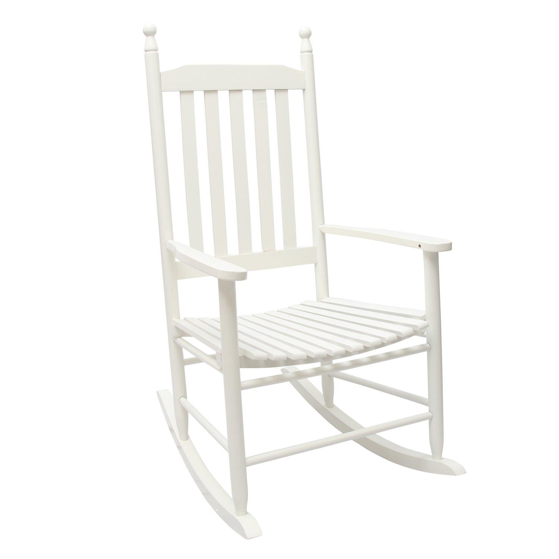 1plus classica sedia a dondolo in legno massello per il comfort ...