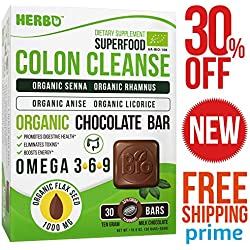 Super Colon Cleanse - For Women and Men - Weight Loss – Pure Quick Herbal Supplement – Best Healthy Daily Organic Colon Cleanse - Instant and Gentle – Vegan Supplement