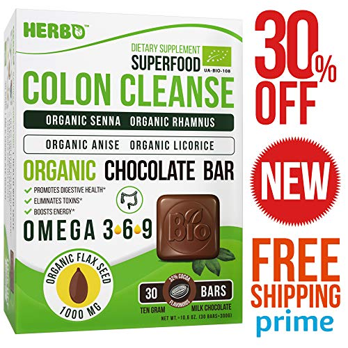 Super Colon Cleanse – For Women and Men – Weight Loss – Pure Quick Herbal Supplement – Best Healthy Daily Organic Colon Cleanse – Instant and Gentle – Vegan Supplement