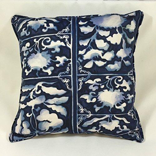 Ralph Lauren blau Tile Kissenbezug–45,7x 45,7cm schaffen die perfekte Funktion Kissen (Ralph Lauren Design-stoff)