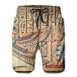 best& Beautiful Pictures Men's/Boys Casual Swim Trunks Short Elastic Waist Beach Pants with Pockets