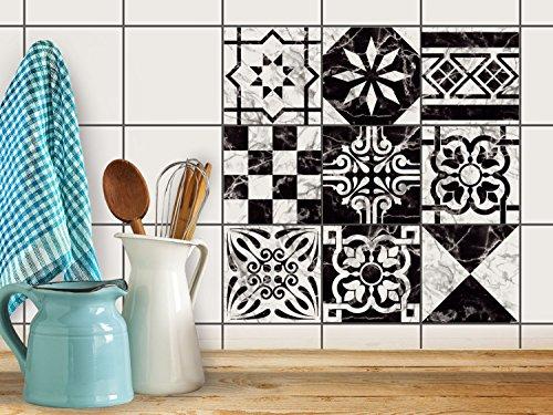 Piastrelle decorative per interni decori stickers design per