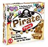 Craft Party Pirate Party – Juego creativo de accesorios de pirata