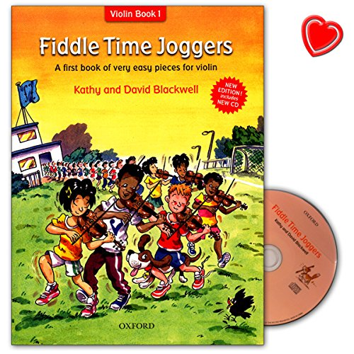Fiddle Time Joggers + CD : A first book of very easy pieces for violin - David Blackwell, Kathy Blackwell - 9780193386778