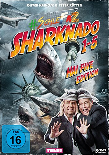 #SchleFaZ – Sharknado 1-5 Hai Five Edition [Alemania] [DVD] 61822rYjyOL