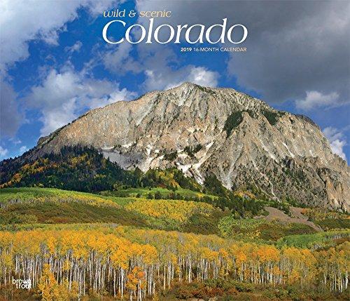 Colorado - Wild & Scenic 2019 - 18-Monatskalender mit freier TravelDays-App: Original BrownTrout-Kalender - Deluxe por Inc. Browntrout Publishers