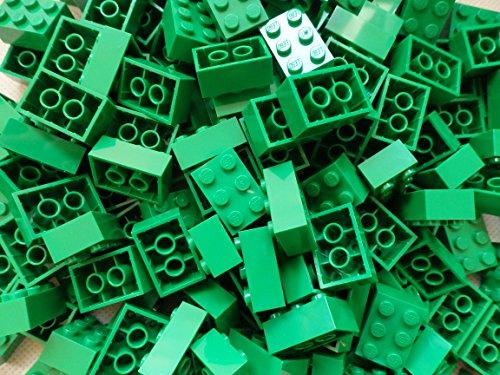 LEGO City - 25 Grüne Steine mit 2x3 Noppen