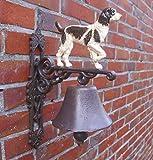 Türglocke verschiedene Dessins Gusseisen Antik nostalgie Stil Retro Bauernhof Tiere Feuerwehr ect. (Hund)