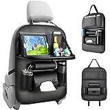 Tsumbay Auto Rugleuning Beschermer (1 stuk) Waterdichte Autostoel Organizer met Veel zak, Tablet/Telefoon Opslag, Multifuncti