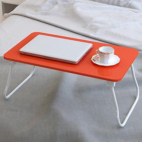KHSKX Moda semplice computer portatile scrivania, letto, impermeabile, tavolino pieghevole , Red