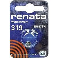 319 (SR527SW) Batteria Pulsante / Ossido D'argento 1.55V / per