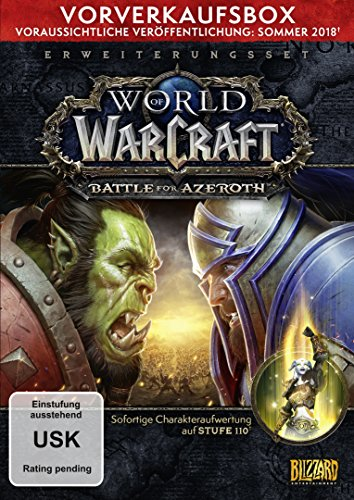 World-of-Warcraft-Battle-of-Azeroth-Add-on-Vorverkaufsbox-Download-Code-kein-Datentrger-enthalten-PC