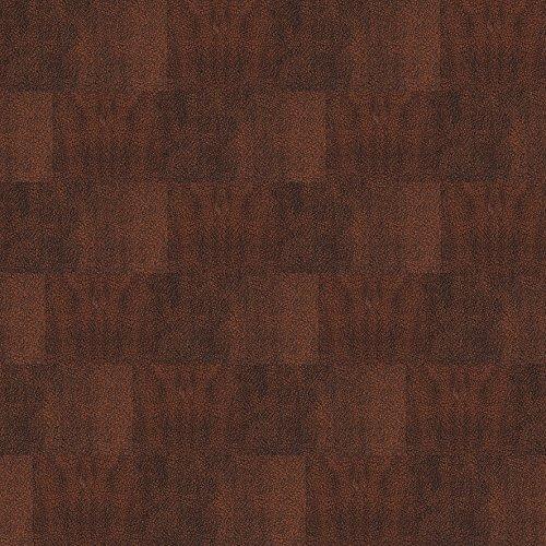 1 m² Echt Leder Bodenbelag / Lederboden zum Kleben / Klebefliesen / Lederboden - Nappa mahagoni (Mahagoni Echte)