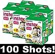 Fujifilm Instax Mini Film - Lot de 5x 20 films pour un total de 100 photos