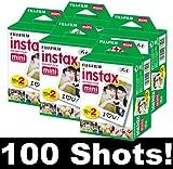Fujifilm Instax Mini Film Set of 5 x 20 ...