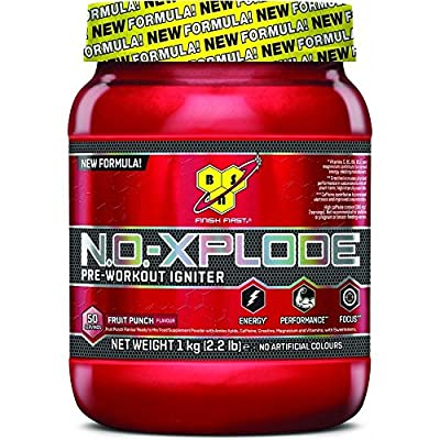 BSN N.O.-XPLODE 3.0 Blue Raspberry Pre Workout Ignitor - 1 kg from Glanbia Performance Nutrition