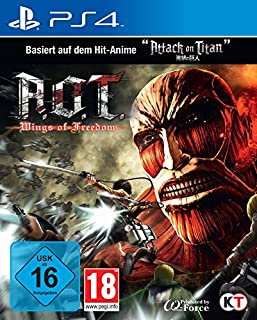 AoT - Wings of Freedom (based on Attack on Titan) - [PlayStation 4] (B01FLQSHNO) | Amazon price tracker / tracking, Amazon price history charts, Amazon price watches, Amazon price drop alerts