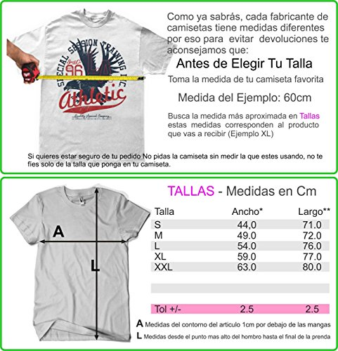 Camisetas La Colmena Herren T-Shirt grau dunkelgrau Dunkelgrau