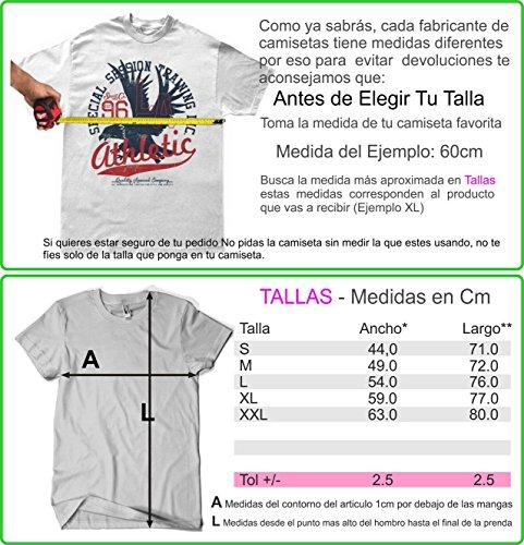 Camisetas La Colmena Herren T-Shirt schwarz Schwarz Schwarz