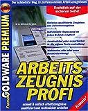 Arbeitszeugnis- Profi. CD- ROM für Windows 95/98/ NT ab 4.0. Der schnellste Weg zu allen Arbeitszeugnissen