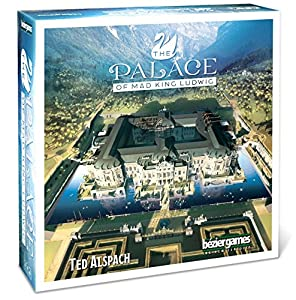 Bezier Games bez00025-Palace of Mad King Ludwig