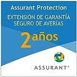 2 años extensión de garantía para un televisor desde 350 EUR hasta 399,99 EUR