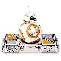 Sphero BB-8 Droide interattivo Star Wars con trainer, luci LED incluse, portata Bluetooth fino a 30 metri, compatibile…