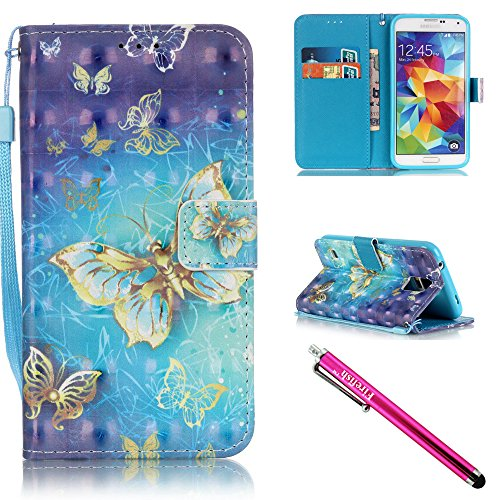 coque-galaxy-s5-firefish-kickstand-shock-proof-double-tui-de-protection-flip-folio-slim-couverture-m