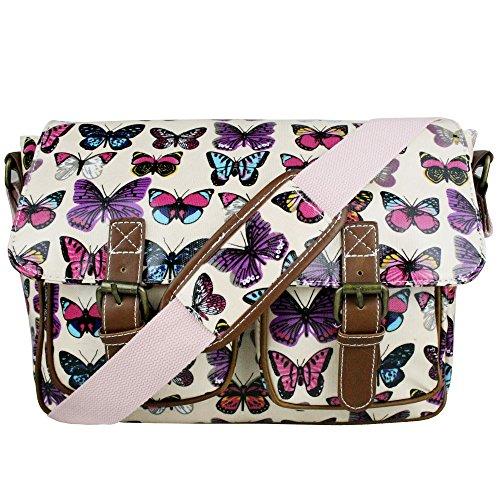 Miss Lulu , Sac bandoulière pour femme taille unique Butterfly Pink