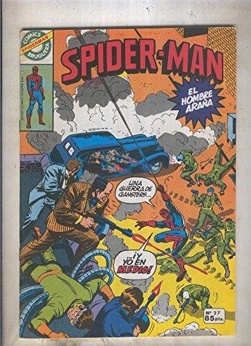 Comics Bruguera: Spiderman numero 27 (numerado 1 en trasera)