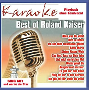 Karaoke - Best of Roland Kaiser