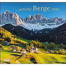 Geliebte Berge 2018 - DuMont Wandkalender - mit den wichtigsten Feiertagen - Format 38,0 x 35,5 cm