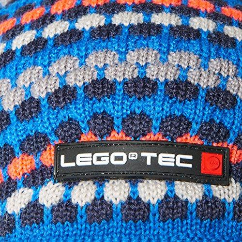 Lego Wear Tec Ace 681-Strickmütze, Bonnet Garçon Bleu - Blau (Blue 563)