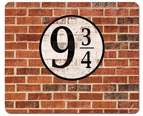 Muros De Ladrillos - Plataforma Tres Cuartos Alfombrilla para Ratón (23 x 19cm)