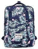 HotStyle Leicht Daypack Rucksack mit 15 Zoll Laptopfach (39x27x14cm), Flamingos Marine