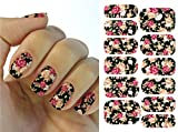 Kompletter Wrap Nail Art Wasser Transfer Aufkleber Sticker Blume - K5708B Nail Sticker Tattoo - FashionLife