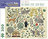 The House That Jack Built C. F. A. Voysey 300-Piece Jigsaw Puzzle Jk025 (Pomegranate Kids Jigsaw Puzzle)