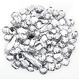 100 x Glitzersteine Schmucksteine Acrylsteine Strasssteine