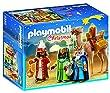 Playmobil - A1502749 - Jeu De Construction - Rois Mages Avec Cadeaux