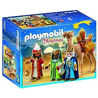 PLAYMOBIL Navidad – Playset Reyes Magos (5589)