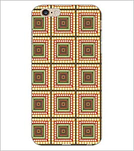 PrintDhaba Pattern D-5240 Back Case Cover for APPLE IPHONE 6S (Multi-Coloured)