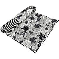 Yoga indiano Mat meditazione Accessori imbottito cotone stampato reversibile (Reversibile Mat)