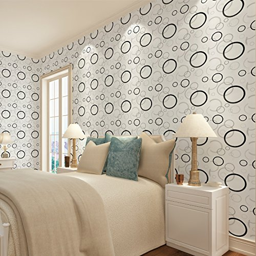 Zhzhco 45Cm*10M Wasserdicht Pvc Selbstklebend Wallpaper Wallpaper Direkt Angeschlossen