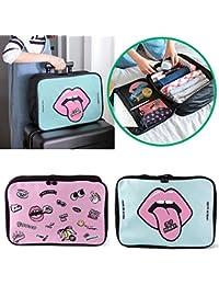 CONNECTWIDE® Cartoon Portable Trolley Boarding Travel Foldable Duffel Bag For Women & Men, Waterproof Lightweight...