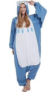 Unisex Fancy Dress Overall Katara 1744 Funny Bat Pyjamas For Slumber Parties or Birthdays Size S